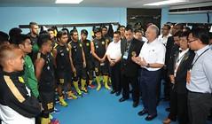PM Visit Malaysia Football Team (Pesta Bola Merdeka 2013) Kuantan (Najib Razak) Tags: football team visit malaysia bola pm kuantan merdeka primeminister pesta 2013 perdanamenteri najibrazak