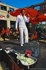 Canadian Elvis (Scottwdw) Tags: travel summer vacation people white ontario canada man money niagarafalls nikon guitar stage elvis case 124 tips singer microphone entertainer marketplace mic suite maidofthemist impersonator d700 scottthomasphotography afsfxvrzoomnikkor28300mmf3556gifed