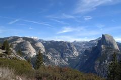 Glacier Point View - Yosemite National Park - California - 12 May 2013 (goatlockerguns) Tags: california usa mountain mountains southwest west nature point waterfall flora nikon may sierra glacier yosemite western halfdome yosemitenationalpark sierranevada yosemitevalley nevadafalls 2013