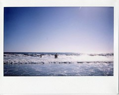 (teacup_dreams) Tags: california venice sea sun beach los angeles instax 210