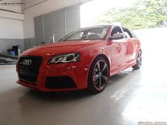 Audi RS3 (Delfino Mattos) Tags: paran car brasil carro audi hatchback londrina automvel esportivo rs3 ciavena worldcars audicenterlondrina