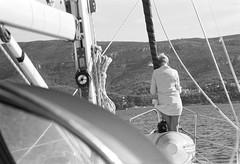Scan-131008-0064 (andrey.mindryukov) Tags: portrait bw woman girl yacht croatia olympus om ilford zuiko
