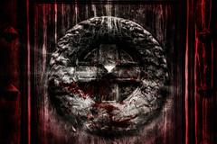 I am waiting you (Otros Mundos) Tags: cemetery canon rebel rojo puerta cementerio dracula recoleta sangre puertas canonrebelt1i
