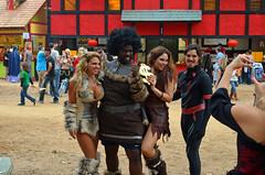 TRF 2013 (David Philen) Tags: fun nikon texas boobs cosplay trf clevage texasrenaissancefestival