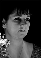 UL 484 (cadayf) Tags: portrait bw art training photo candle nb technique bougie exercice modle hgin