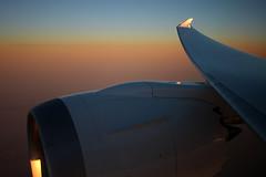 Boeing 787-8 Dreamliner  Jetairfly (TUI Airlines Belgium)  OO-JDL  International Airspace  2013 12 08  Inflight  18  Copyright  2013 Ivan Coninx Photography (Ivan Coninx Photography) Tags: sunrise photography inflight wing engine diamond windowview boeing eis generalelectric genx 787 b787 overwing dreamliner aviationphotography boeing787 internationalairspace jetairfly firstcommercialflight tuiairlinesbelgium generalelectricgenx entryintoservice oojdl ivanconinx ivanconinxphotography