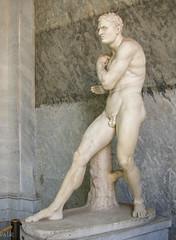Boxer Damoxenos by Canova (Tiigra) Tags: 2007 italy rome vatican interior sculpture statue lazio art