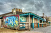 The Dock (grandalloliver) Tags: building art beach colors clouds photoshop canon painting island bars raw florida cloudy tiff hdr pensacola pensacolabeach topaz photoshopelements hss photomatix canonefs1755mmf28usm garyoliver rebelxsi canonxsi topazadjust grandalloliver grandalloliverphoto