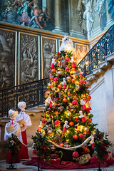 The Hampton Court Palace (Alexandre Moreau | Photography) Tags: christmas uk england choir christmastree hallway staircase stockphoto