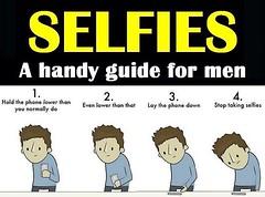 Selfies a handy guide for men FACEBOOK | TWITTER (julieforever89) Tags: men handy for guide facebook | selfies twitter