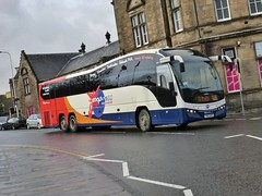 54145 - YX63 NFD (Cammies Transport Photography) Tags: bus volvo coach place fife elite hunter stagecoach kirkcaldy in plaxton x26 54145 yx63nfd