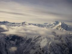 Bull's Head Peak (zainhussainkhan) Tags: pakistan mountain snow nature clouds head sigma peak olympus bull killer mm 19 skardu concordians lrthefader epl5