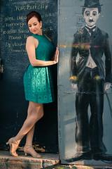 kristina m (iluminadora) Tags: nyc portrait woman film mujer dress turquoise teal documentary charlie vestido boogaloo turquesa kristinamelike nelsonbarreto welikeitlikethat abakuafrolatindancecompany enesalon