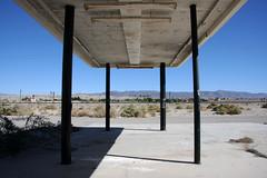 Abandoned gas station, The Salton sea, California 2013 (sensaos) Tags: california travel sea usa abandoned america decay forgotten states desolate abandonment salton 2013 unied sensaos