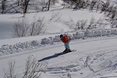 Fast downhill to the valley. (GIVI58) Tags: snow glacier neve svizzera engadin engadine engadina bernina pontresina morteratsch grigioni crastagzza