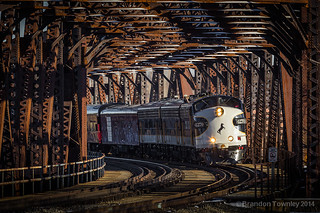 Norfolk Southern 955 in Massillon, Ohio