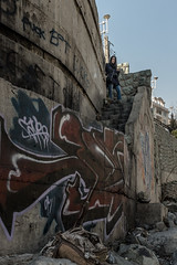 _DSF0009 (Tehran Street Photography) Tags: people graffiti cityscape iran streetphotography tehran onthestreet فرشته tehranstreets
