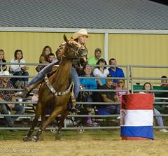 Fox Hollow Rodeo - Barrel Racing 1 (KKfromBB) Tags: ohio horse nikon action barrel racing riding cowgirl waynesville foxhollowrodeo nikond5100 kkfrombb