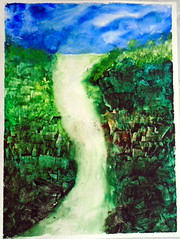 Watercolor by Vanda - Maria Pacca's Day, 1º março 2015, Brasília-DF - DSC00084 (Dona Minúcia) Tags: brazil art nature water água brasil watercolor painting fun happy 1 funny peace arte natureza group paz diversão harmony grupo alegria cascade cachoeira pintura aquarela cascata terapia pintando arttherapy harmonia brasíliadf mariapacca march1st2015 1ºmarço2015