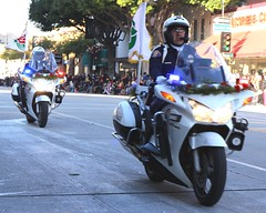 Pasadena Police Dept. (Prayitno / Thank you for (12 millions +) view) Tags: california ca roses television rose honda tv police pd scene parade tournament cycle motor behind pasadena department officer dept motorcyle bts 1300 sts 2015 konomark
