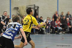 BW_Dalto_150207_57_DSC_6053 (RV_61, pics are all rights reserved) Tags: amsterdam korfbal blauwwit dalto korfballeague robvisser rvpics blauwwithal
