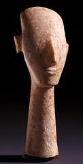 Idole cycladique - Type Plastiras - 3200-2800 (M. Agrippa) Tags: cyclades idole