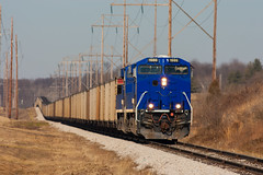 SVTX 1986 EVWR SS1 West Franklin IN 07Feb 2015 (Train Chaser) Tags: es44ac svtx svtx1986