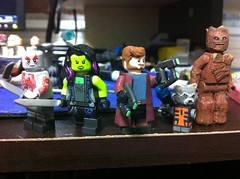 Guardians of the Galaxy (What a bunch of a-holes) (Maniacal Customs) Tags: