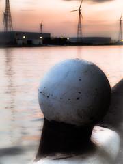 The ship has left the harbor (vale0065) Tags: sunset harbor boat zonsondergang ship lock sluis meerpaal scheepvaart gestel albertkanaal 21042011