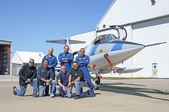 Starfighter Team (ErikBrouwer) Tags: sun fighter aircraft aviation helmet wing jet nasa rocket ksc lockheed aviator pilot f104 flightsuit afterburner starfighter