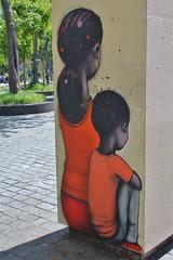 Seth_6942 parc de Belleville Paris 20 (meuh1246) Tags: streetart paris seth belleville enfant parcdebelleville paris20