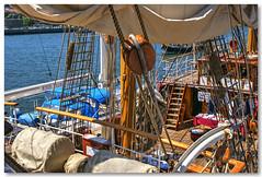 """Convs do veleiro """"Europa"""" (vmribeiro.net) Tags: boat europa barco ship porto sail ribeira navio cais veleiro portuga"""