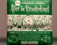 Viewmaster Alice (karmenbizet73) Tags: art toys photography flickr toystory viewmaster aliceinwonderland lewiscarroll photooftheday eyespy 45365 toysunderthebed 2015365photos 150yearsofalice aliceintexas