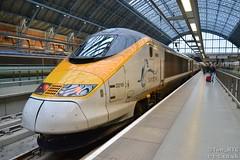 373210 at St Pancras International (Tim R-T-C) Tags: railroad london station train eurostar railway mainline class373 londonstpancras 373210 9o47