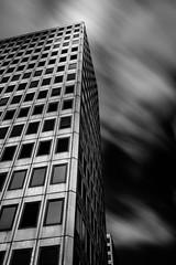 Apex Tower 2 (Warren Brendan McCann) Tags: longexposure blackandwhite clouds canon mono lee manfrotto newmalden leefilters apextower canonefs10mm22mmf3545usm canoneos7dmark2 leelandscapepolariser leesuperstopper