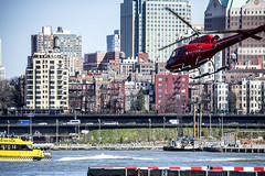 Brooklyn (PAJ880) Tags: urban water brooklyn river downtown waterfront manhattan taxi east lower copter heliport