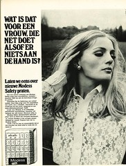 Modess ad (Nobo Sprits) Tags: 1969 magazine napkin ad johnson towel sanitary advertentie serviette margriet pao johnsonjohnson damenbinde higinico modess maandverband hyginique damesverband
