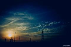 A Dramatic Sunrise (Rites Bera) Tags: light sky sun nature colors sunrise landscape early poetry outdoor rainy drama teamcanon