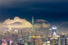 Taipei 101 (JIMI_lin) Tags: longexposure cloud taiwan 101 taipei