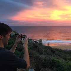 Just another perfect sunset in Straya