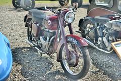 Vintage Motorcycle (JDP886) (HDR) (Bri_J) Tags: uk nikon bedfordshire airshow motorcycle hdr vintagemotorcycle shuttleworthcollection oldwarden oldwardenairfield d7200 jdp886 flynavyairshow