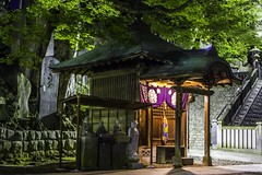 Naritasan Shrine at the Temple_7698 (Jim Truscott) Tags: longexposure japan architecture backlight night canon temple eos shrine long exposure buddha pray peaceful jim chiba 7d backlit narita naritasan truscott japanesearchitecture jimtruscott naritatempleparkatlasjapan