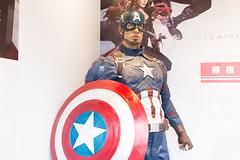 Marvel Harajuku Popup Store (Dick Thomas Johnson) Tags: japan tokyo shibuya civilwar harajuku    marvel captainamerica avengers  chrisevans steverogers hottoys  toysapiens   captainamericacivilwar  marvel  marvelharajukupopupstore