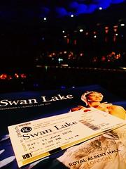 Swan Lake at The Royal Albert Hall in London. #swanlake #royalalberthall #ballet (mark emerson) Tags: ballet royalalberthall swanlake