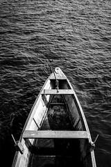 Canoa (CarlosKiffer) Tags: sea bw water boat fisherman day ngc canoe bow rowing