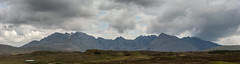 The Black Cuillin (pstani) Tags: uk panorama skye landscape scotland cuillins hebrides carbost blackcuillins stitchedpanorama