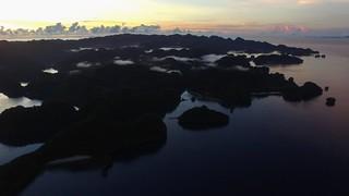 Sunrise at Bucas Grande Island