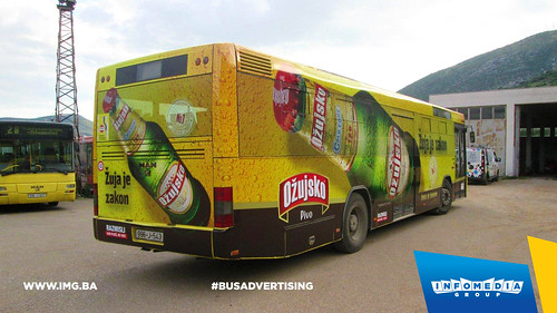 Info Media Group - Ožujsko pivo, BUS Outdoor Advertising, Mostar 05-2016 (4)
