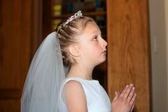 Our Father (Teresa Ramella) Tags: church prayer praying indoors catholicchurch firstcommunion firstholycommunion