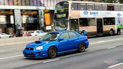 Subaru Impreza WRX STI GDB (ChesterC Photography) Tags: blue sports japan hongkong japanese mod power flat rally 4wd turbo subaru vehicle impreza wrx sti awd jdm